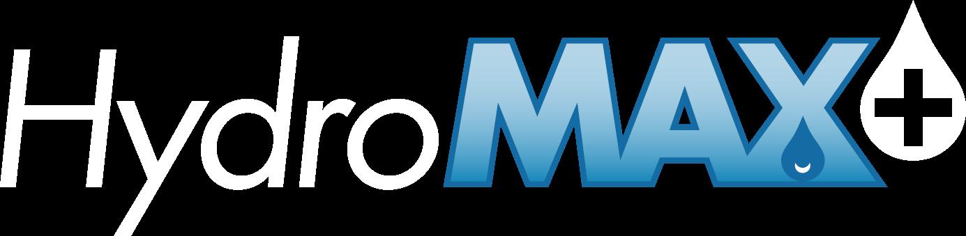 HydroMAX+Logo4CWhite